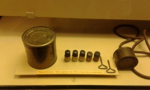 Breakfast for the German Soldiers during Second World War. Instant coffee Nescafe was invented for war means.