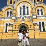St. Vladymyrsky Cathedral built in honor of Grand duke Vladymyr - baptizator of Kievan Rus