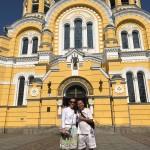 St. Vladymyrsky Cathedral built in honor of Grand duke Vladymyr - baptizator of Kievan Rus