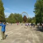Observation wheel in Chernobyl