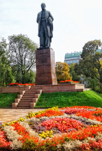 Monument to Taras Shevchenko. 2017