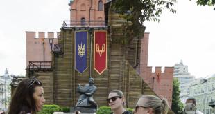 Golden Gates - main entrance to Kiev in 11 century