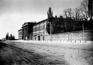 University building in 1840s in Kiev