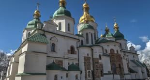 Sophia Cathedral in Kiev .
