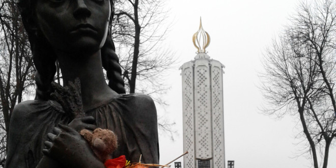Starvation monument in Kiev
