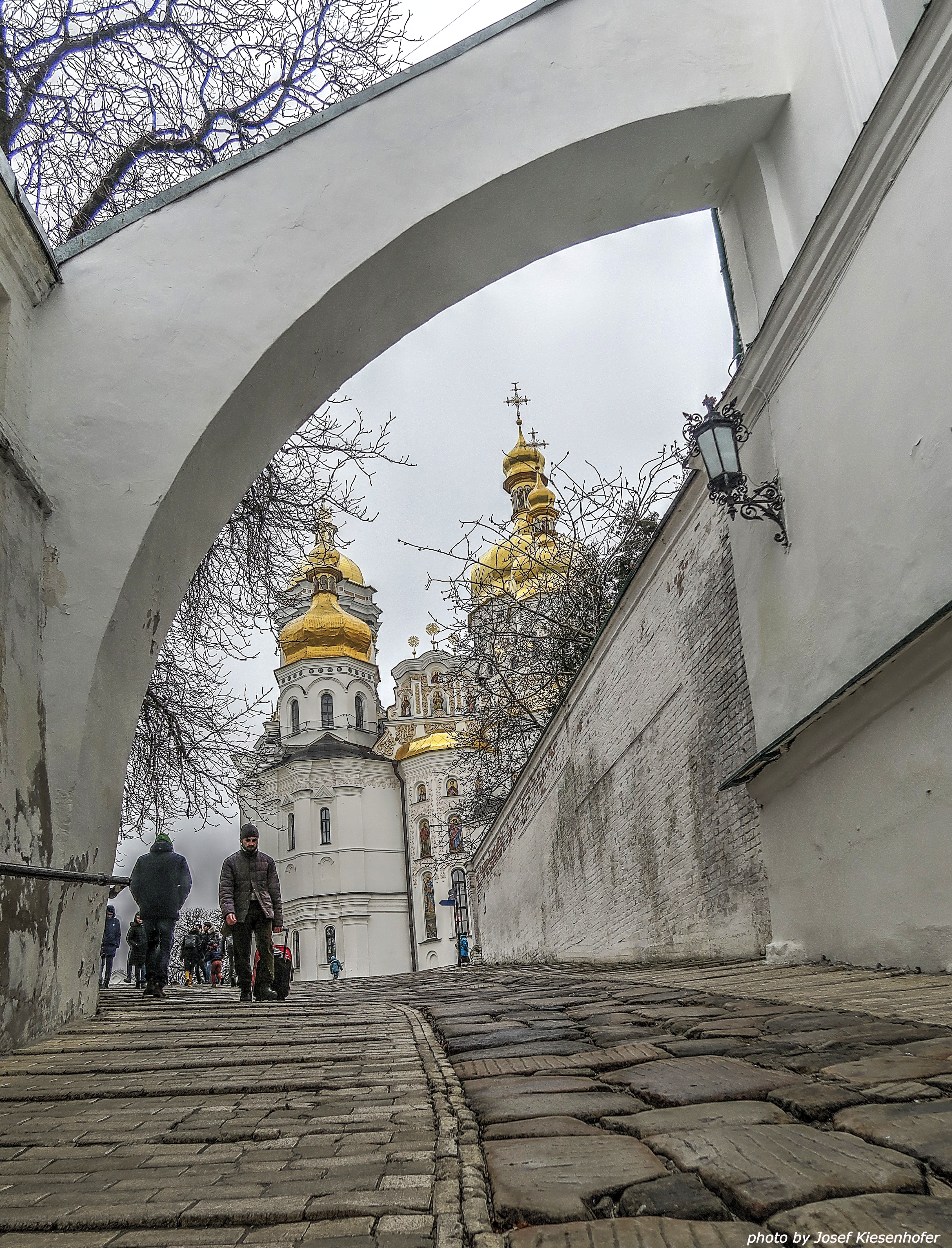 Way to Upper Lavra. Now Lavra occupies 26 ha.
