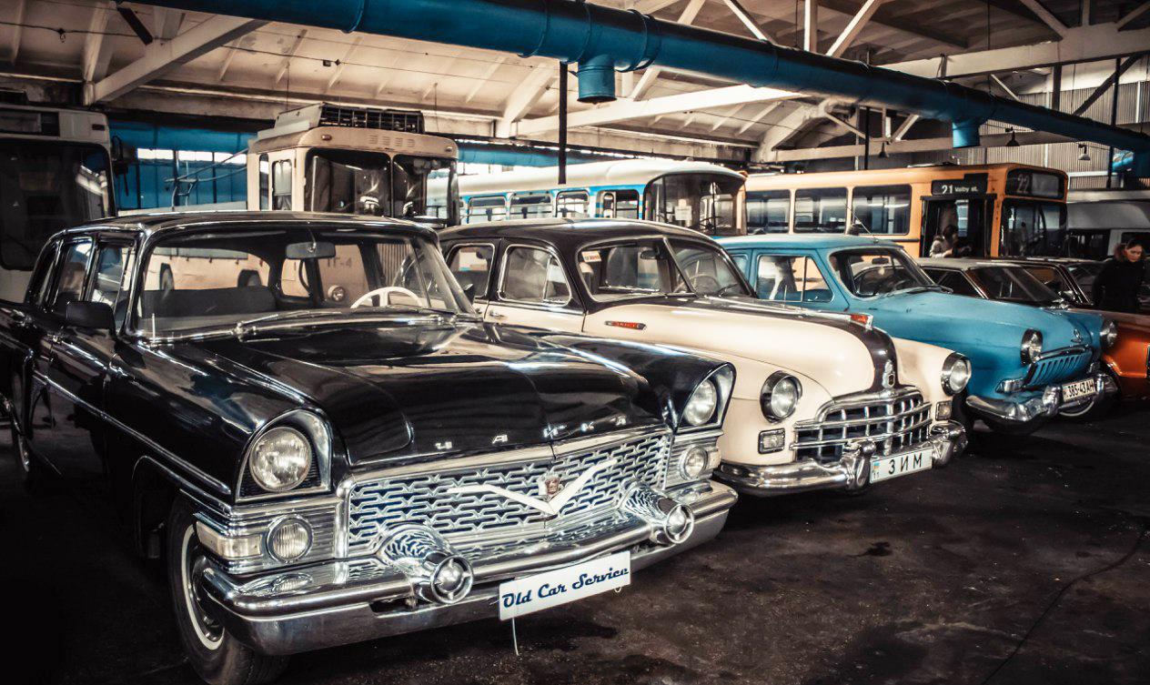 Kiev transport museum