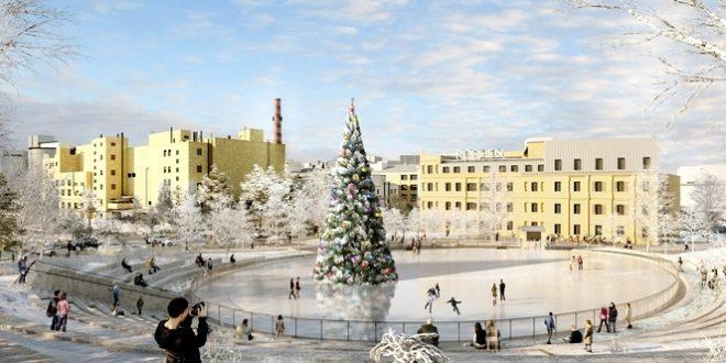 New Ice rink in Kiev