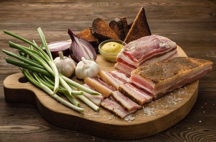 Salo - traditional Ukrainian food