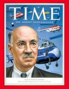 Igor_Sikorsky in TIME magazine, 1953