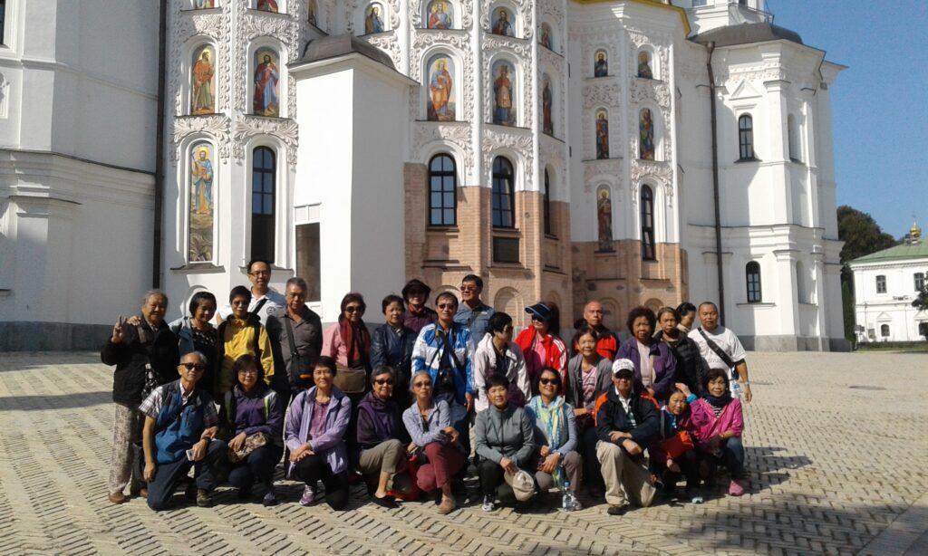Incoming tourism in Kiev