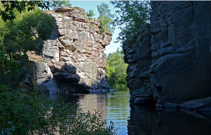 Kanyon in Korosten