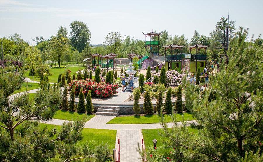 Sakyra park near Kyiv