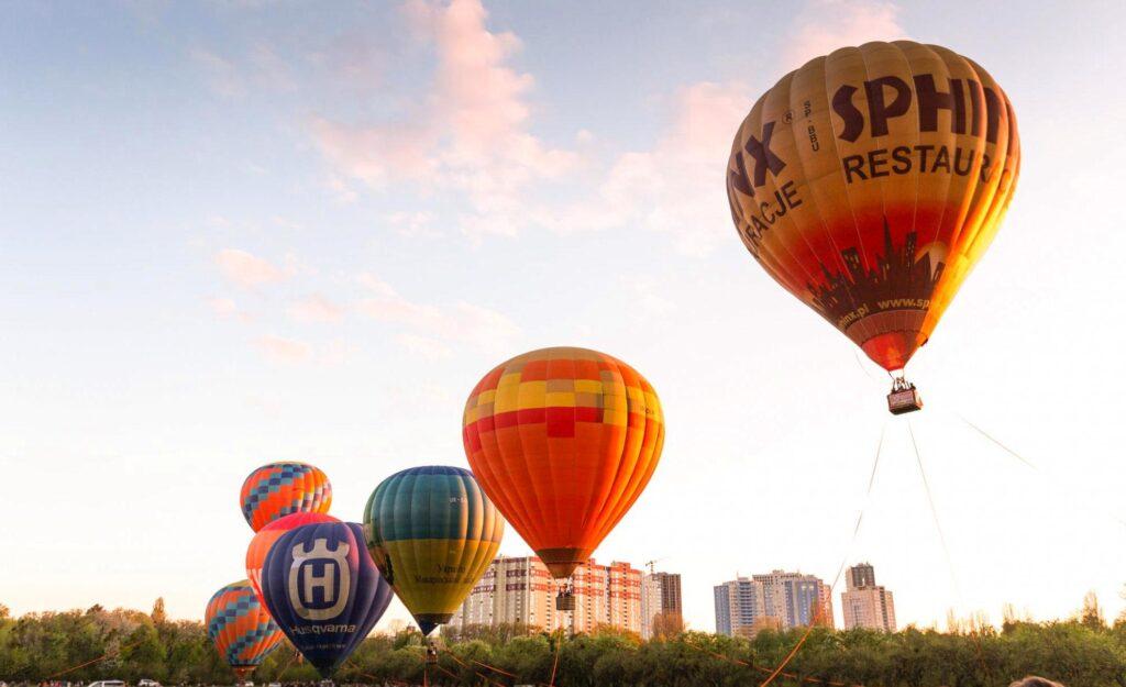 Air Balloon Festival in Kyiv